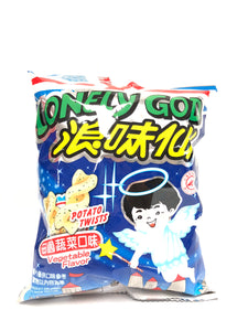 浪味仙田园蔬菜口味42g lovely god snack vegetable flaovr