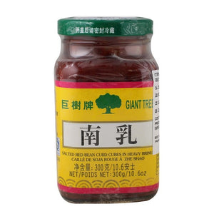 巨树牌南乳300g Giant T Salted Red Bean Curd Cubes