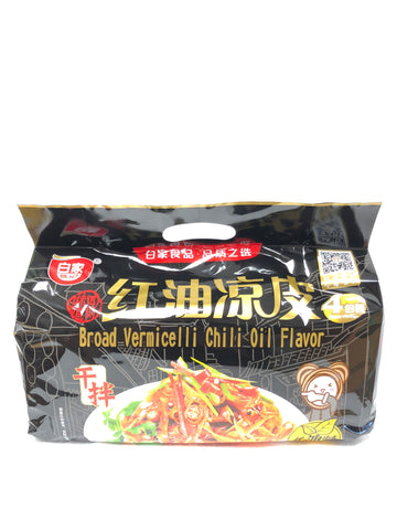 白家红油凉皮4pk BJ spicy steamed cold noodles