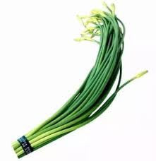 蒜苔$2/1 把 Garlic Shoot (1order拍四个)