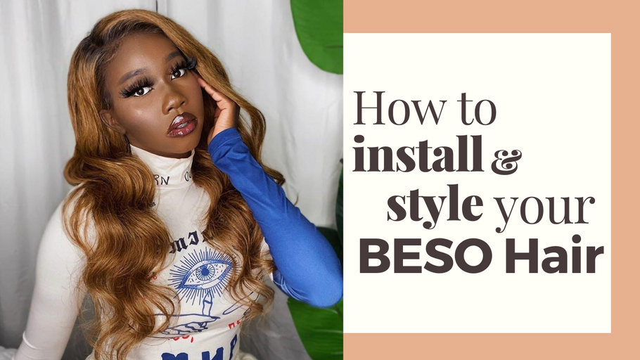 How To Install & Melt Your Lace Wigs