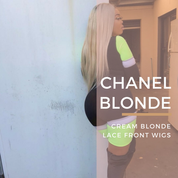 Chanel Blonde Homepage Banner