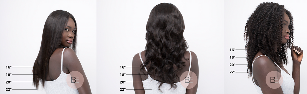 Beso Hair Length Measurements