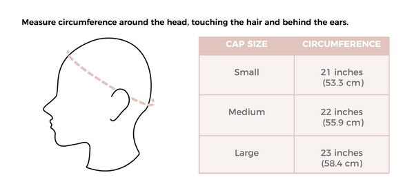 Beso Hair Wig Cap Size Measurement
