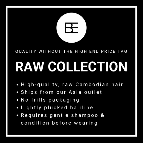 Raw Hair Collection