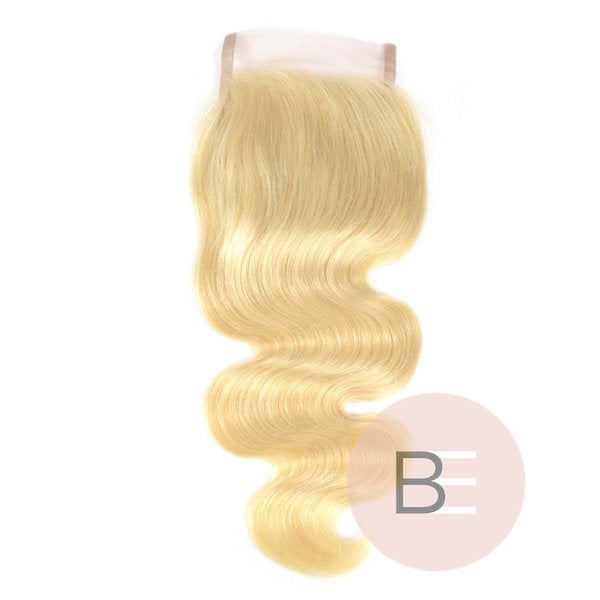 BLONDE MALIBU BARBIE LACE CLOSURE