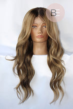 Beige Blonde Human Hair Wig