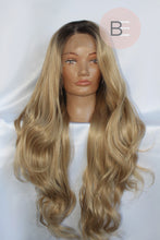 Blonde Synthetic Hair Wig