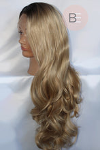 Ombre Blonde Synthetic Hair Lace Front Wig