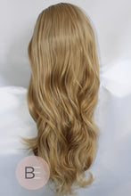 Sandy Blonde Synthetic Hair Lace Front Wig