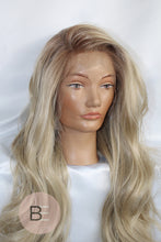 SERENA BLONDE FAUX LACE FRONT WIG