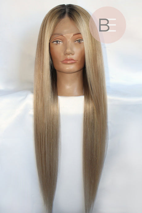 Sandy Blonde Lace Front Wig
