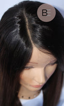 natural hairline brown full lace wig