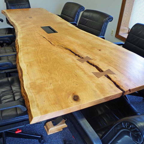Live Edge Office and Home Workspace Furniture
