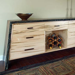 Live Edge Furniture for Active Living Spaces