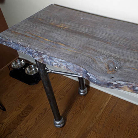 Live Edge Tables for the Hallway and Entryway