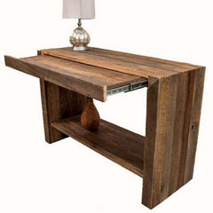 Rustic Tables for the Hallway and Entryway