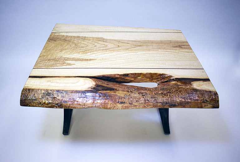 Rustic Ash Coffee Table