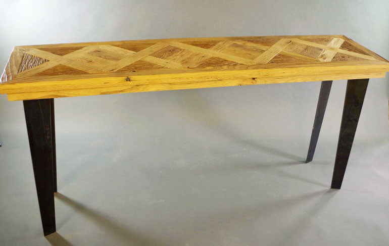 Rustic Parquet Coffee Table