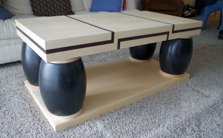 "Modern Maple Coffee Table From ""Frasier"""