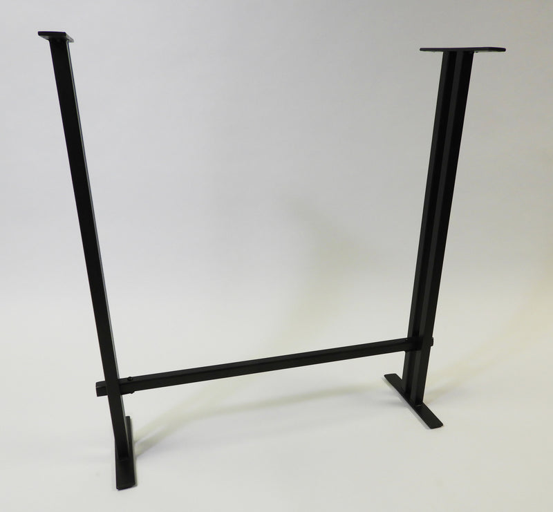 Buy Industrial Steel Base | For Tall Sofa Table | Attach To Live Edge Wood Slab