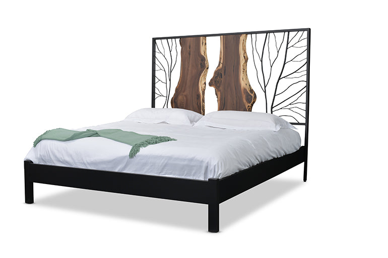 """Park City"" Headboard And King Bed Frame 