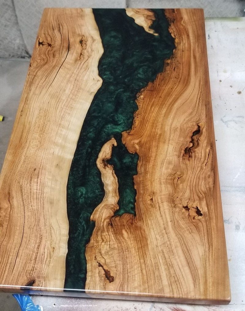 Live Edge River Side Table
