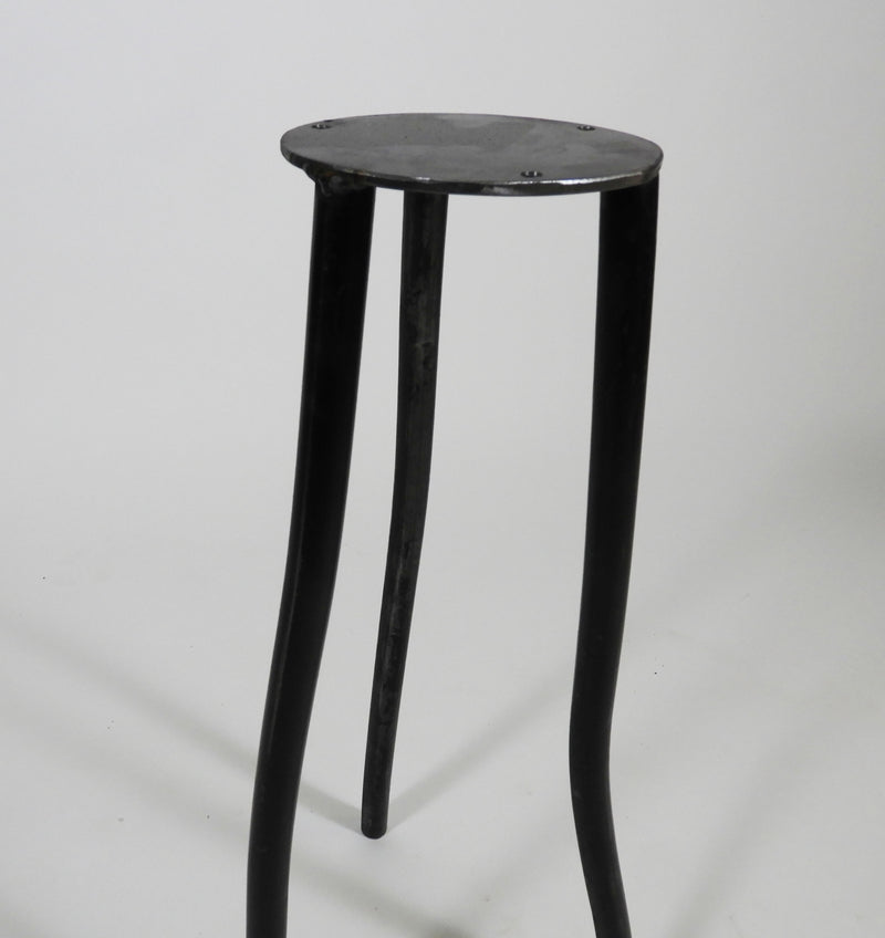 "22"" Steel Base For Rustic Side Table"