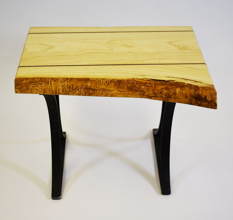 Rustic Ash End Table