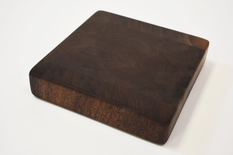 Rustic Walnut End Grain Cutting Board