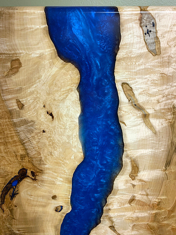 Maple Epoxy Resin Wall Art