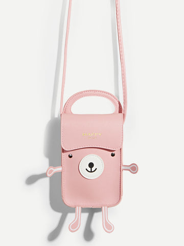 Animal Shaped PU Satchel Bag