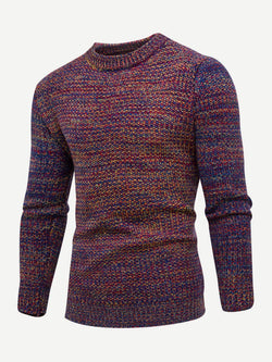 Men Space Dye Jumper
