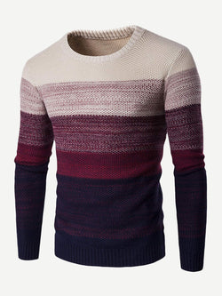 Men Dip Dyed Jumper