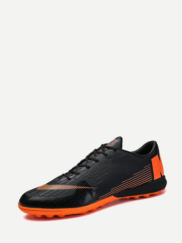 Men Non Slip Lace Up Trainers