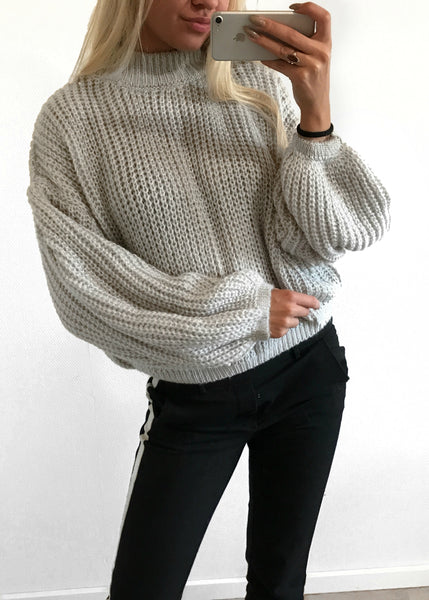 Aurelia Grå Sweater