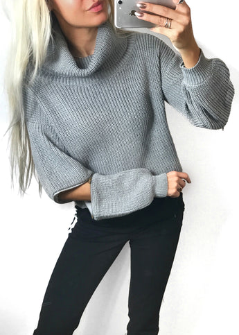 Bella Grå Sweater
