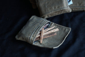 Camping Fatwood Pouch