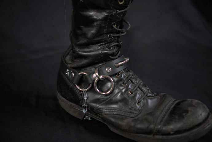 Leather punk bootstrap