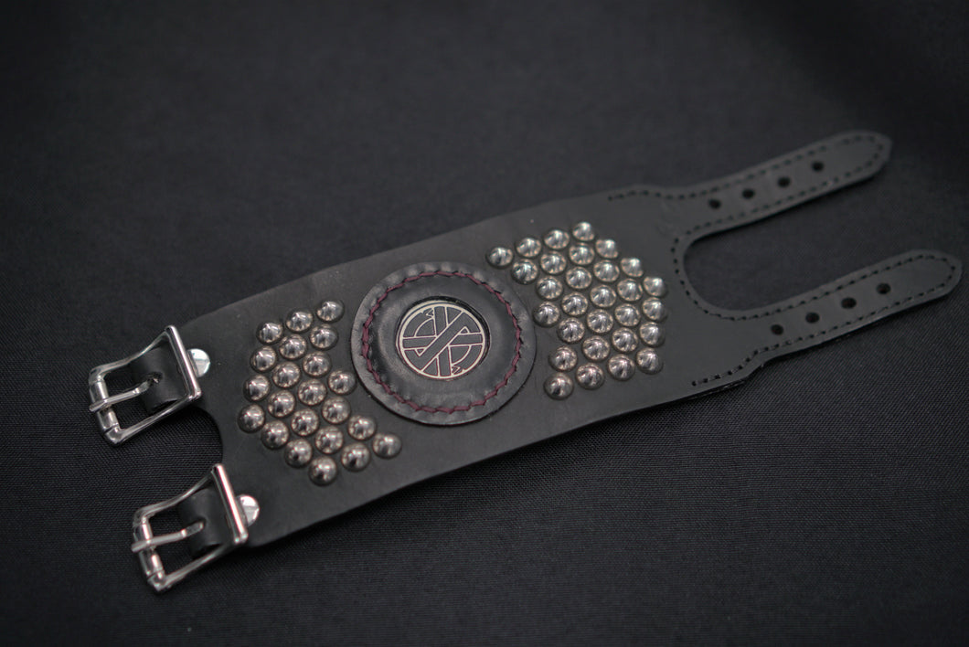 Crass Badge Cuffs