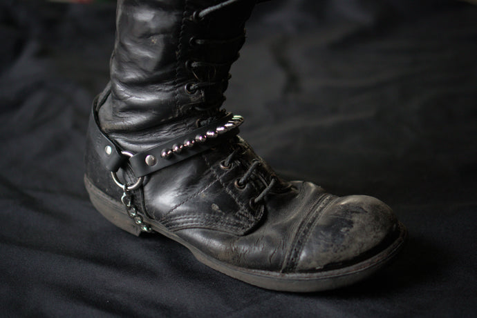 Studded punk bootstrap