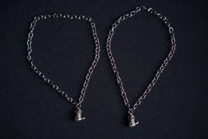 chain stabber punk necklace