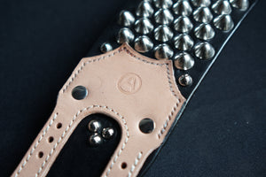 UK77 studded leather bracelet for punks