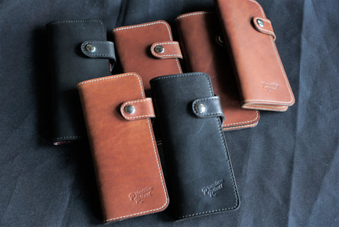 Vertical Biker Wallet