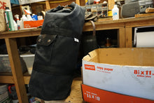 No Frills Waxed Canvas Sissy Bar Bag