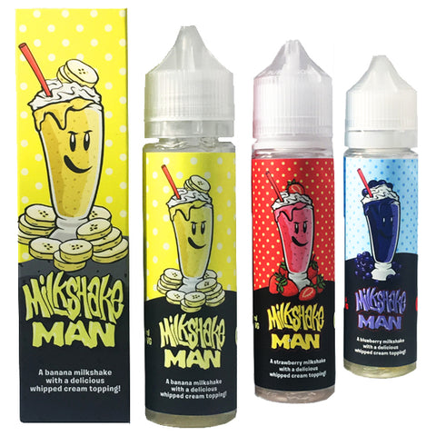 Milkshake Man (50ml shortfills)