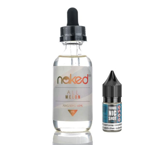 Naked 100 (50ml shortfills)