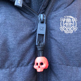3d printed skull lanyards and zipper pulls