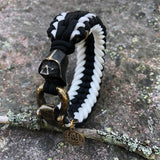 The Dark Side sanctified paracord bracelet