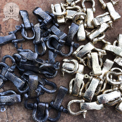 Original Handmade Brass Shackles